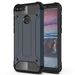 King Kong Armor Premium Shockproof Dual Layer Rugged Hard Cover for Huawei Mate 10 Lite / Nova 2i / Horor 9i / G10 - Navy