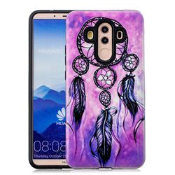 Starry Wind Chimes Pattern 2 in 1 PC + TPU Glossy Embossed Back Cover for Huawei Mate 10 Pro(6.0 inch)