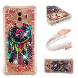 Seal Wind Chimes Dynamic Liquid Glitter Sand Quicksand Star TPU Case for Huawei Mate 10 Pro(6.0 inch)