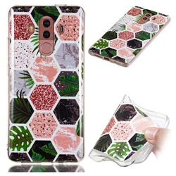 Rainforest Soft TPU Marble Pattern Phone Case for Huawei Mate 10 Pro(6.0 inch)