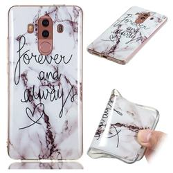 Forever Soft TPU Marble Pattern Phone Case for Huawei Mate 10 Pro(6.0 inch)
