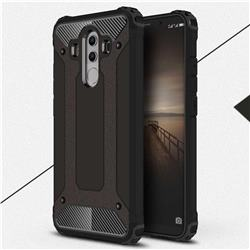 King Kong Armor Premium Shockproof Dual Layer Rugged Hard Cover for Huawei Mate 10 Pro(6.0 inch) - Black Gold