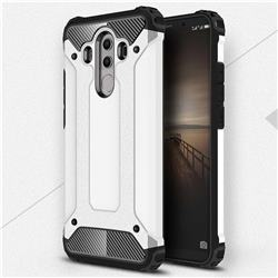 King Kong Armor Premium Shockproof Dual Layer Rugged Hard Cover for Huawei Mate 10 Pro(6.0 inch) - White