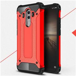King Kong Armor Premium Shockproof Dual Layer Rugged Hard Cover for Huawei Mate 10 Pro(6.0 inch) - Big Red