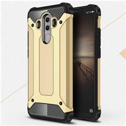 King Kong Armor Premium Shockproof Dual Layer Rugged Hard Cover for Huawei Mate 10 Pro(6.0 inch) - Champagne Gold