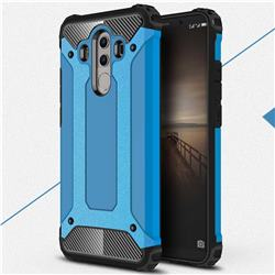 King Kong Armor Premium Shockproof Dual Layer Rugged Hard Cover for Huawei Mate 10 Pro(6.0 inch) - Sky Blue