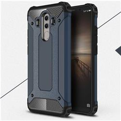 King Kong Armor Premium Shockproof Dual Layer Rugged Hard Cover for Huawei Mate 10 Pro(6.0 inch) - Navy