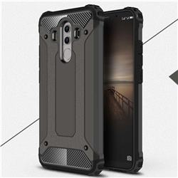 King Kong Armor Premium Shockproof Dual Layer Rugged Hard Cover for Huawei Mate 10 Pro(6.0 inch) - Bronze