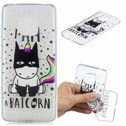 Batman Clear Varnish Soft Phone Back Cover for Huawei Mate 20