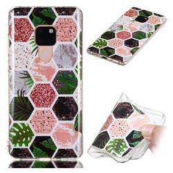 Rainforest Soft TPU Marble Pattern Phone Case for Huawei Mate 20