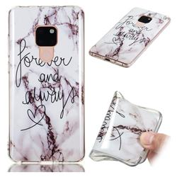 Forever Soft TPU Marble Pattern Phone Case for Huawei Mate 20