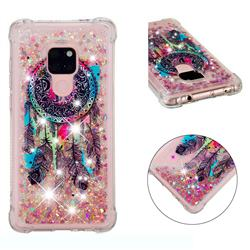 Seal Wind Chimes Dynamic Liquid Glitter Sand Quicksand Star TPU Case for Huawei Mate 20