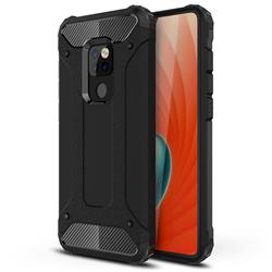 King Kong Armor Premium Shockproof Dual Layer Rugged Hard Cover for Huawei Mate 20 - Black Gold