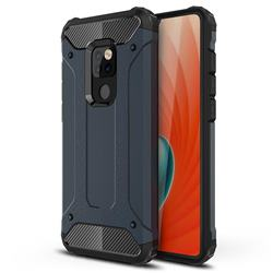 King Kong Armor Premium Shockproof Dual Layer Rugged Hard Cover for Huawei Mate 20 - Navy