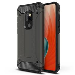 King Kong Armor Premium Shockproof Dual Layer Rugged Hard Cover for Huawei Mate 20 - Bronze