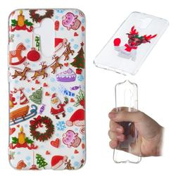 Christmas Playground Super Clear Soft TPU Back Cover for Huawei Mate 20 Lite