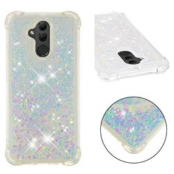 Dynamic Liquid Glitter Sand Quicksand Star TPU Case for Huawei Mate 20 Lite - Pink