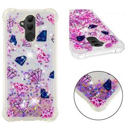 Diamond Dynamic Liquid Glitter Sand Quicksand Star TPU Case for Huawei Mate 20 Lite