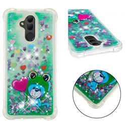 Heart Frog Lion Dynamic Liquid Glitter Sand Quicksand Star TPU Case for Huawei Mate 20 Lite