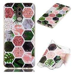 Rainforest Soft TPU Marble Pattern Phone Case for Huawei Mate 20 Lite