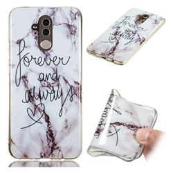 Forever Soft TPU Marble Pattern Phone Case for Huawei Mate 20 Lite