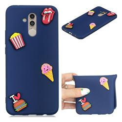 I Love Hamburger Soft 3D Silicone Case for Huawei Mate 20 Lite