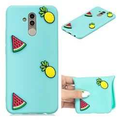 Watermelon Pineapple Soft 3D Silicone Case for Huawei Mate 20 Lite