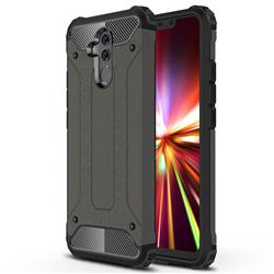 King Kong Armor Premium Shockproof Dual Layer Rugged Hard Cover for Huawei Mate 20 Lite - Bronze