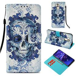 Cloud Kito 3D Painted Leather Wallet Case for Huawei Mate 20 Lite