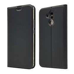 Ultra Slim Card Magnetic Automatic Suction Leather Wallet Case for Huawei Mate 20 Lite - Star Grey