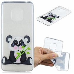 Bamboo Panda Clear Varnish Soft Phone Back Cover for Huawei Mate 20 Pro
