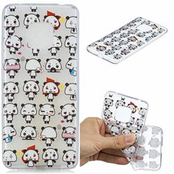 Mini Panda Clear Varnish Soft Phone Back Cover for Huawei Mate 20 Pro