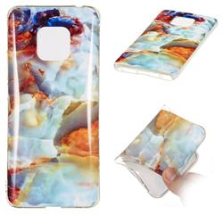 Fire Cloud Soft TPU Marble Pattern Phone Case for Huawei Mate 20 Pro