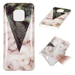 Leaf Soft TPU Marble Pattern Phone Case for Huawei Mate 20 Pro