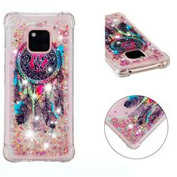 Seal Wind Chimes Dynamic Liquid Glitter Sand Quicksand Star TPU Case for Huawei Mate 20 Pro