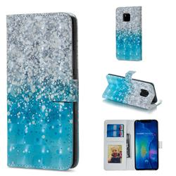 Sea Sand 3D Painted Leather Phone Wallet Case for Huawei Mate 20 Pro