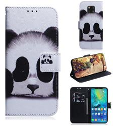 Sleeping Panda PU Leather Wallet Case for Huawei Mate 20 Pro