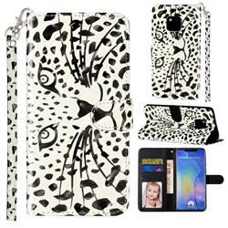 Leopard Panther 3D Leather Phone Holster Wallet Case for Huawei Mate 20 Pro