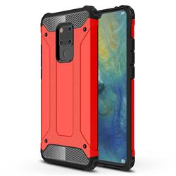 King Kong Armor Premium Shockproof Dual Layer Rugged Hard Cover for Huawei Mate 20 X - Big Red