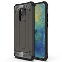 King Kong Armor Premium Shockproof Dual Layer Rugged Hard Cover for Huawei Mate 20 X - Bronze