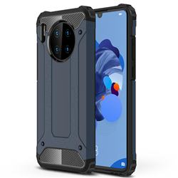 King Kong Armor Premium Shockproof Dual Layer Rugged Hard Cover for Huawei Mate 30 - Navy