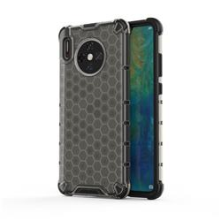 Honeycomb TPU + PC Hybrid Armor Shockproof Case Cover for Huawei Mate 30 - Gray