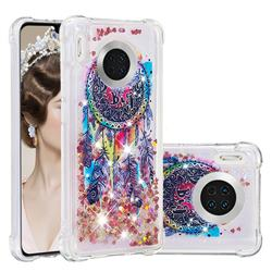 Seal Wind Chimes Dynamic Liquid Glitter Sand Quicksand Star TPU Case for Huawei Mate 30