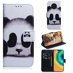 Sleeping Panda PU Leather Wallet Case for Huawei Mate 30
