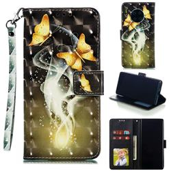 Dream Butterfly 3D Painted Leather Phone Wallet Case for Huawei Mate 30
