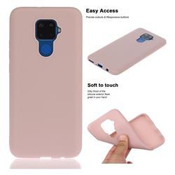 Soft Matte Silicone Phone Cover for Huawei Mate 30 Lite(Nova 5i Pro) - Lotus Color