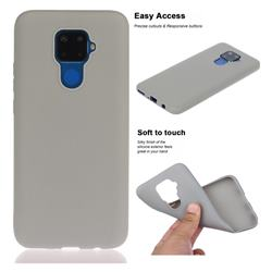 Soft Matte Silicone Phone Cover for Huawei Mate 30 Lite(Nova 5i Pro) - Gray