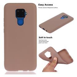 Soft Matte Silicone Phone Cover for Huawei Mate 30 Lite(Nova 5i Pro) - Khaki