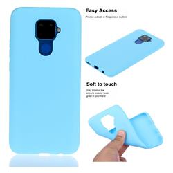 Soft Matte Silicone Phone Cover for Huawei Mate 30 Lite(Nova 5i Pro) - Sky Blue