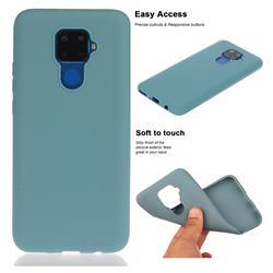 Soft Matte Silicone Phone Cover for Huawei Mate 30 Lite(Nova 5i Pro) - Lake Blue